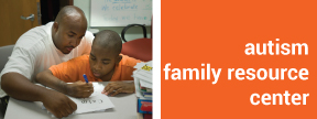 autism family resource center image and link