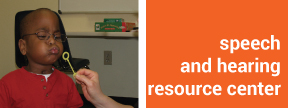 speech and hearing resource center image and link